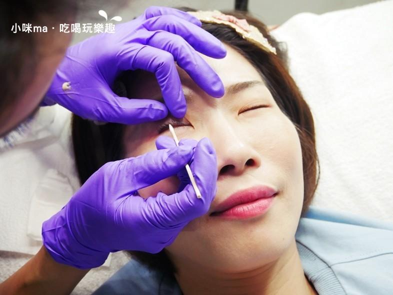 韓式3D美瞳線/隱形眼線敷舒緩膏-幻羽毛時尚美學中和紋繡
