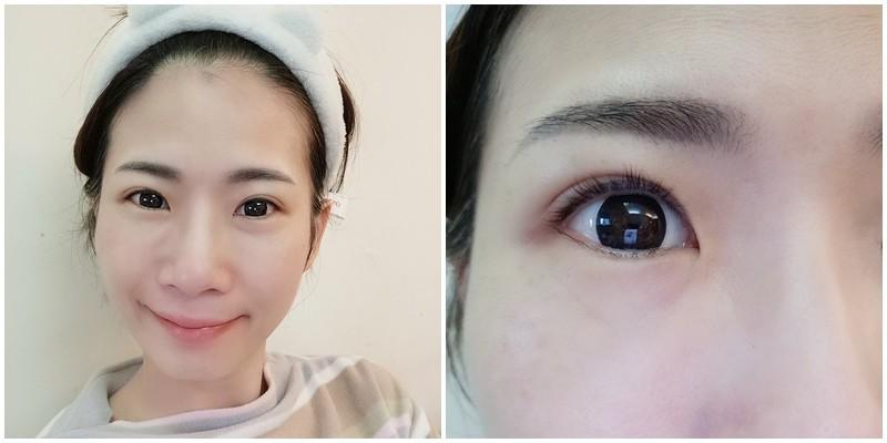 韓式3D美瞳線/隱形眼線脱痂過程-幻羽毛時尚美學中和紋繡