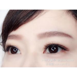 想要低調的彩睫 就選棕色的6D美睫 道別一般般的黑睫毛 你絕對會愛上棕色睫毛